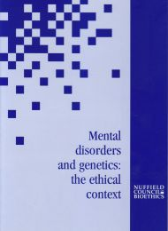 Mental disorders and genetics cover