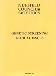 Genetic Screening ethical issues