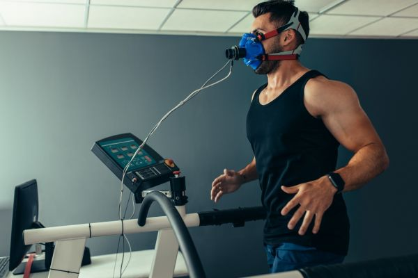 Man running sports science crop