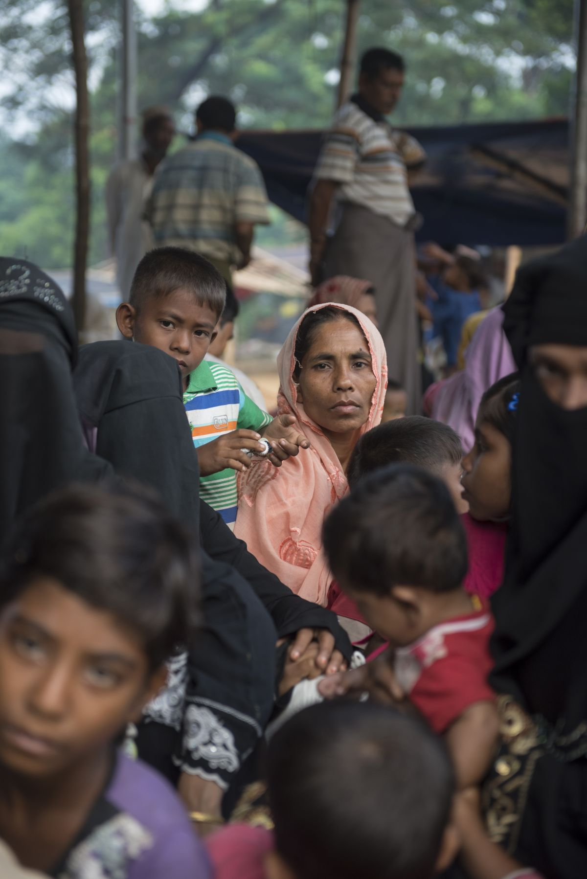 Rohingya muslims refugees
