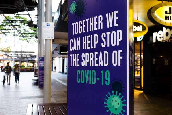 Together we can stop the spread of COVID