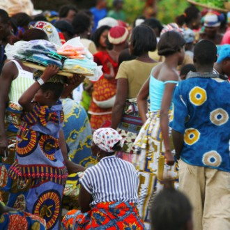 African market scene(2)