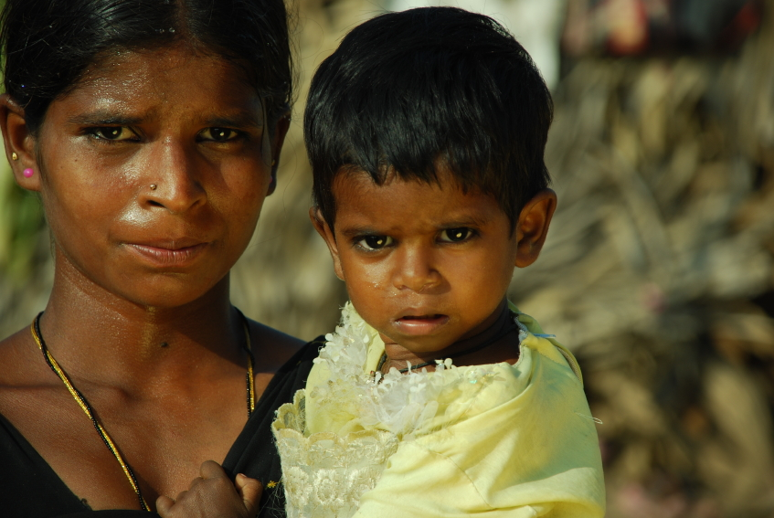 Indian mother and child - Nuffield Bioethics