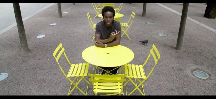 Commissioned poet Kayo Chingonyi