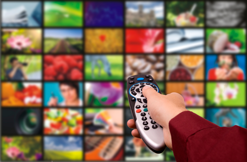 Television remote, multiple channels