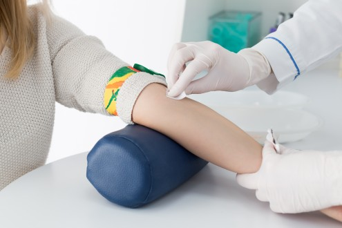 shutterstock - preparation for blood test