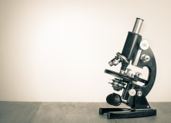 shutterstock_vintage microscope